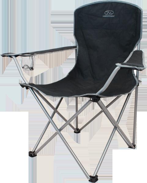 Black-folding-camp-chair