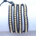 Ladies_bracelet_Gold_beed_LB2_2