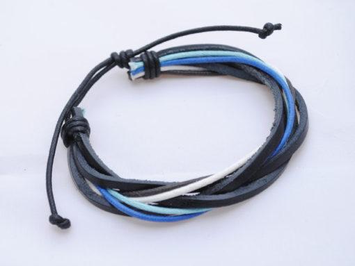 Mens_bracelet_Black_blue_white_BM9_2