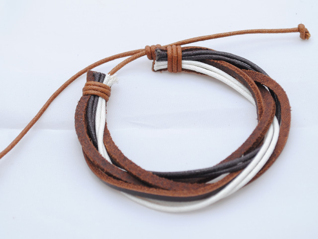 Mens_bracelet_brown_white_BM4_2