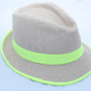 Mens_trilby_hats_Green