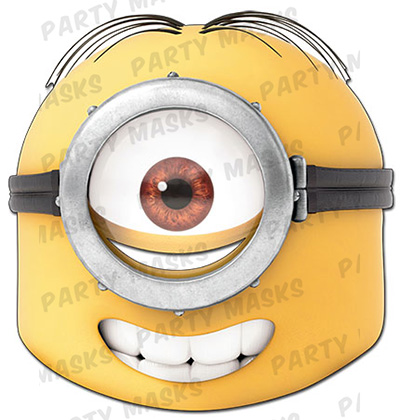 Stuart Minion Mask copy