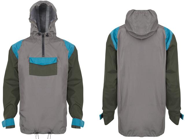 Mens poncho hoodie