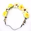 Yellow Floral Headband