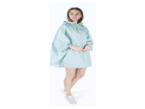 Green-Poncho-New