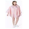 Pink rain coat-new