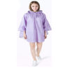 Vilolet rain coat-new