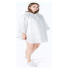 White rain coat-new
